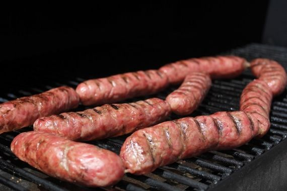Traditional German Bratwursts with a Smoky Traeger Twist. Learn how to make your own brats!
