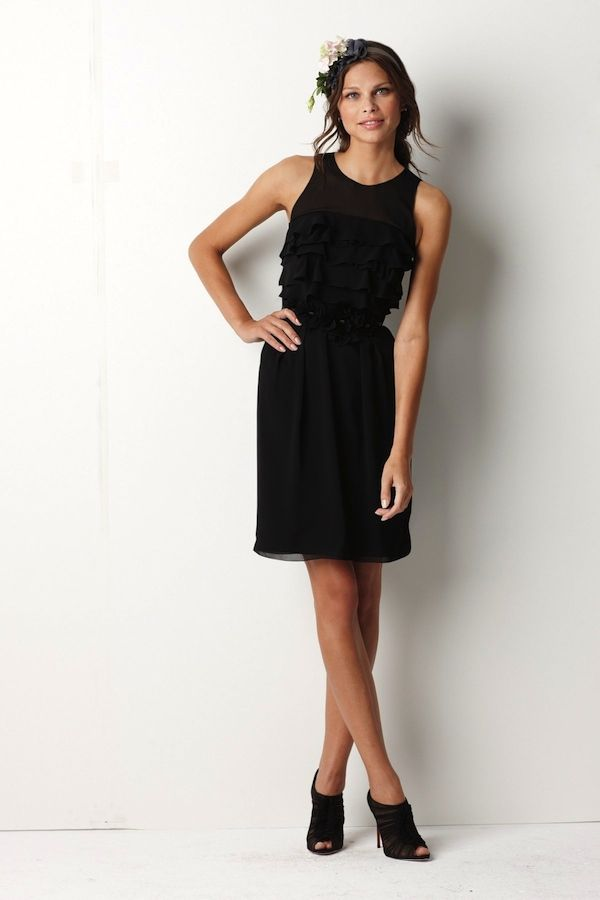 LBBD Little Black Bridesmaid Dress
