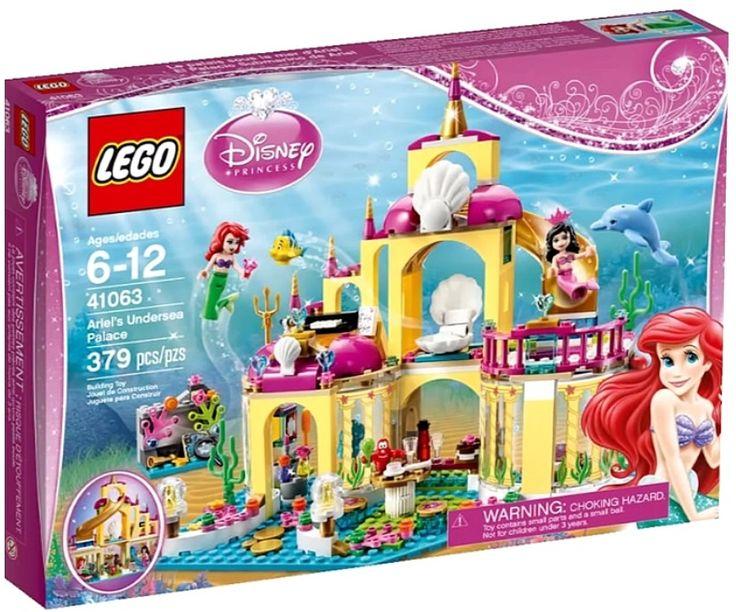Lego 41063 Подводный дворец Ариэль