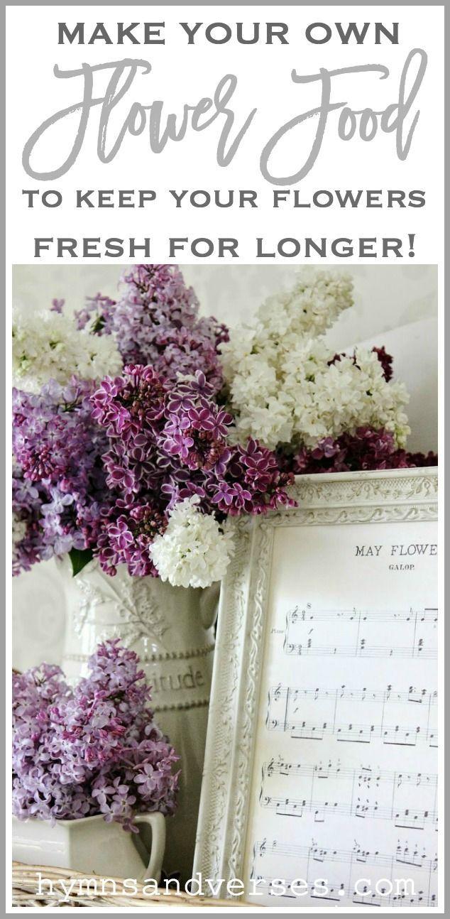 Diy Flower Food To Keep Your Flowers Fresh Flower Arrangements Flower Food Silk Flower Arrangements