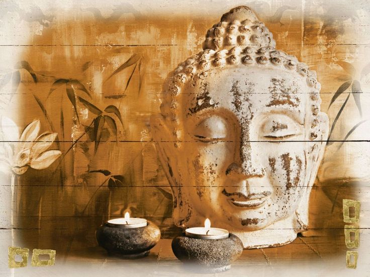 Bild Buddha mit Kerzen Jetzt bestellen unter: https://moebel.ladendirekt.de/dekoration/kerzen-und-kerzenstaender/kerzen/?uid=441ad2ce-9618-5cc8-b1c9-5cb5cb899b04&utm_source=pinterest&utm_medium=pin&utm_campaign=boards #kerzen #kerzenstaender #bilder #dekoration