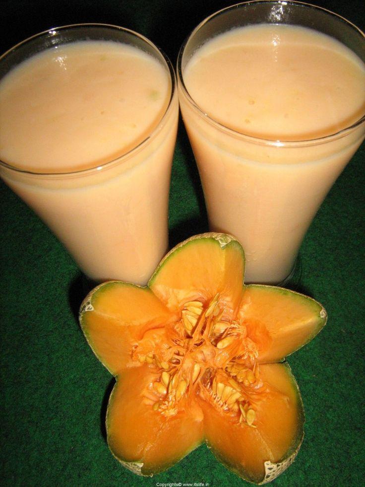 Cantaloupe Milkshake Recipe
