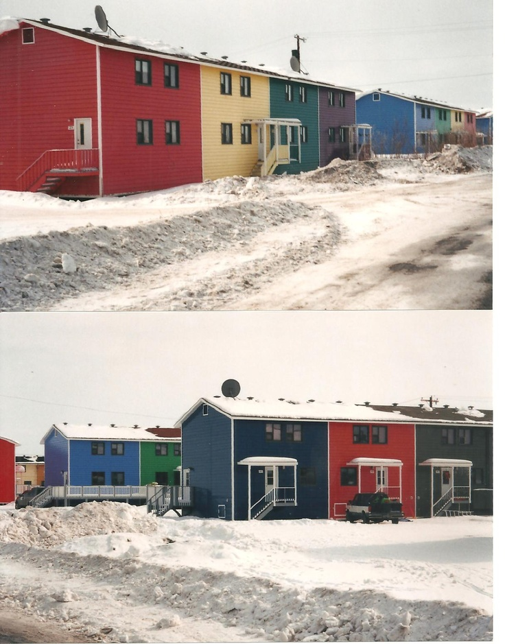 Inuvik, NT. Community housing - I lived in a couple of those when I was little!