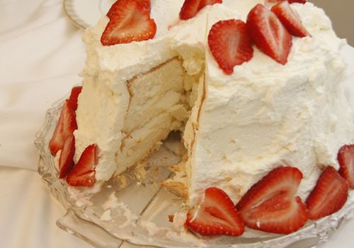 Gluten Free Angel Food Cake. I have been wanting a recipe for this! It is on my Easter menu.