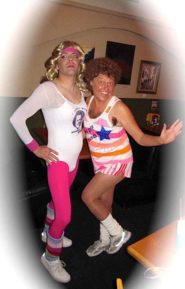 richard simmons costume diy. barbara \ richard simmons costume diy r