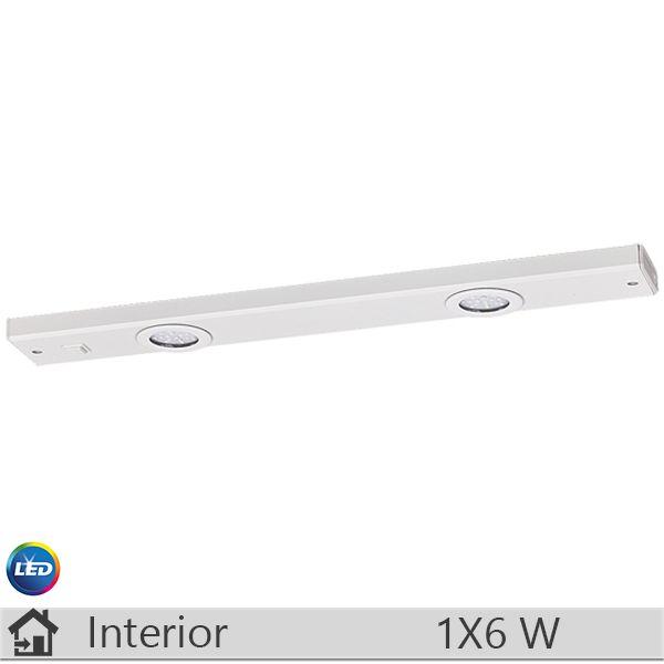 Aplica LED baie, iluminat decorativ interior Rabalux, gama Long light, model 2349 http://www.etbm.ro/rabalux