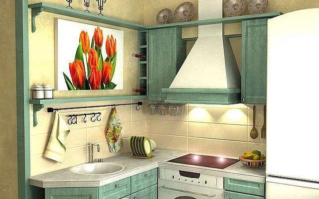 Варианты дизайна кухни в хрущевке | Интерьер и Дизайн