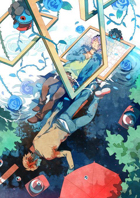 「亡者の青」/「格跳」のイラスト [pixiv]