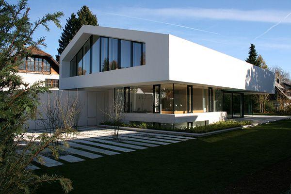 House d von bemb dellinger architekten satteldach for Moderne architektur wohnhaus