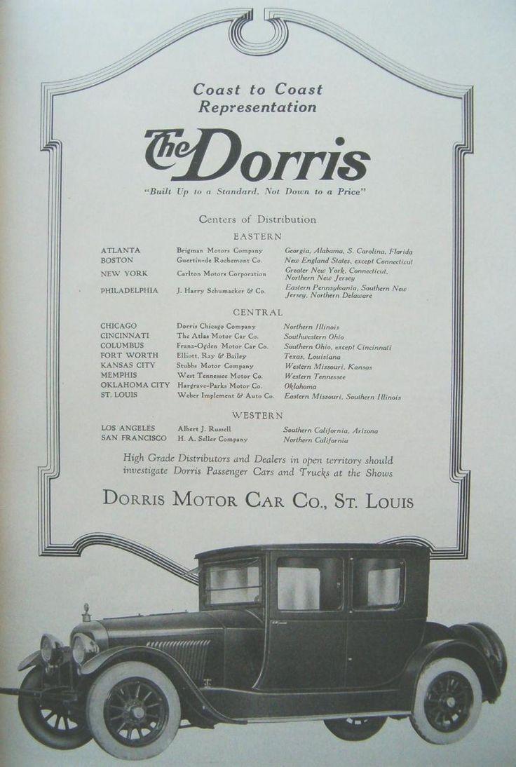 18 best Dorris Motor Car Co. Ads images on Pinterest | Motor car ...