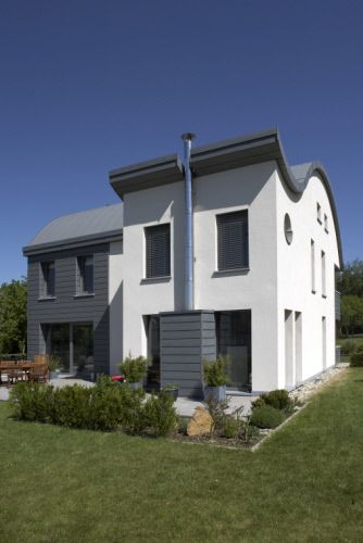 Private house in Bascharage (Luxembourg) by Erpelding en Henx, Installer :  Miller