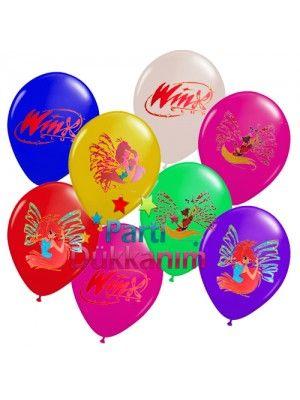 Winx Baskılı Balon (20 adet)