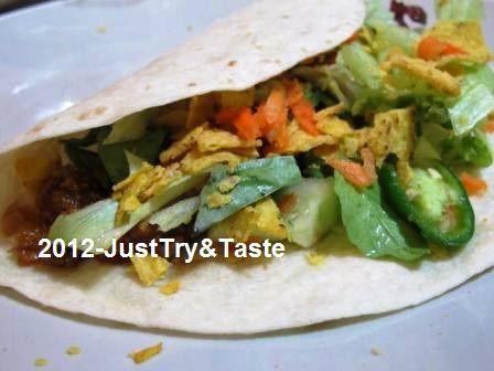 Just Try & Taste: Burrito Isi Daging Cincang & Sayur: Yuk Mencicipi Makanan Meksiko!
