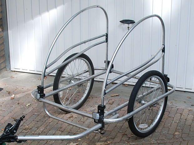 Convert a Child's Bike Trailer into a Cargo Trailer.