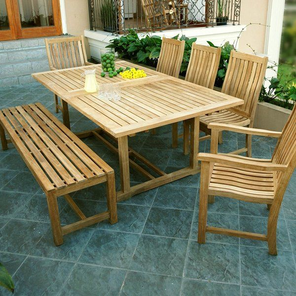 Best Famous Chelsea Extendable Teak Dining Table By Three Birds