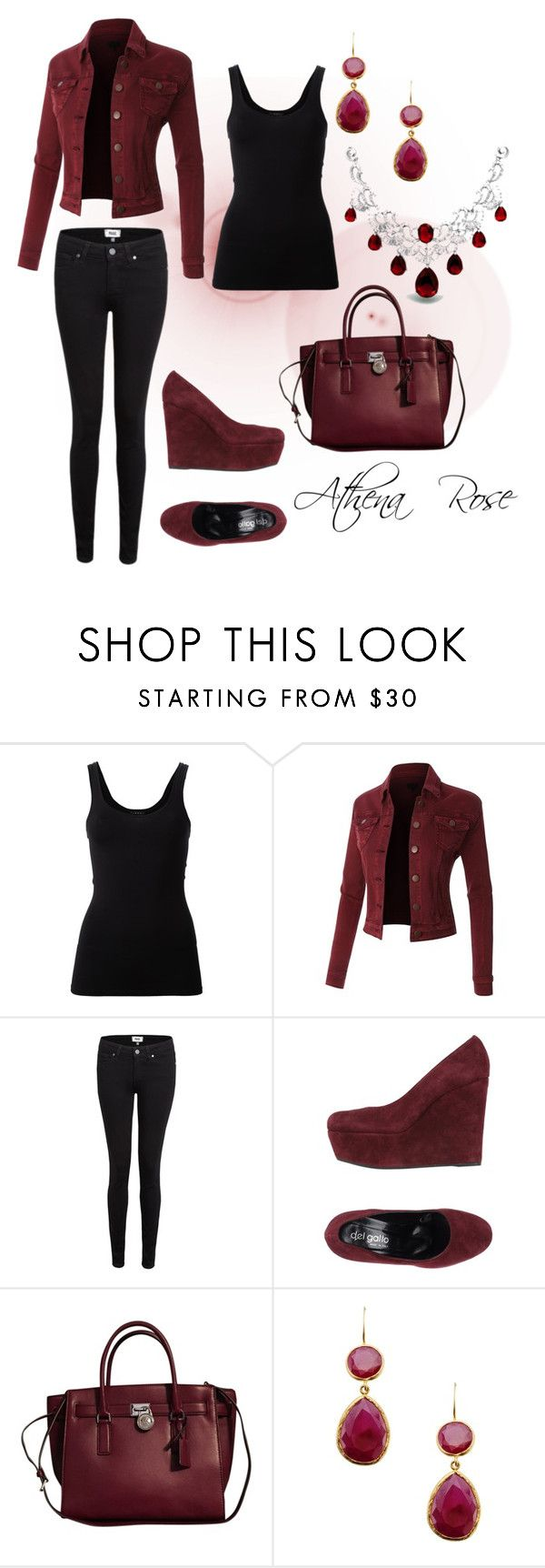 """""""Untitled #68"""" by athena-rose15 ❤ liked on Polyvore featuring Theory, Paige Denim, Del Gatto, Michael Kors, First People First and Bling Jewelry"""