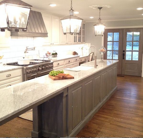 "10 Fixer Upper Modern Farmhouse White Kitchen Ideas: 26 Best ""Fixer Upper"" Show Kitchen Countertops By Design"