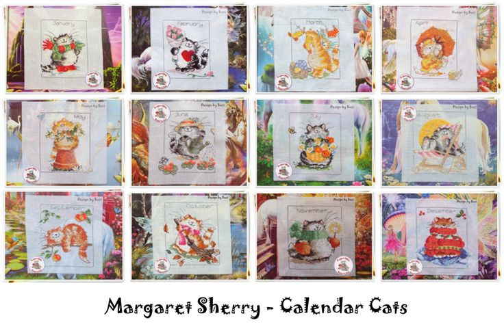 Project 2014 - Margaret Sherry: Calendar Cats