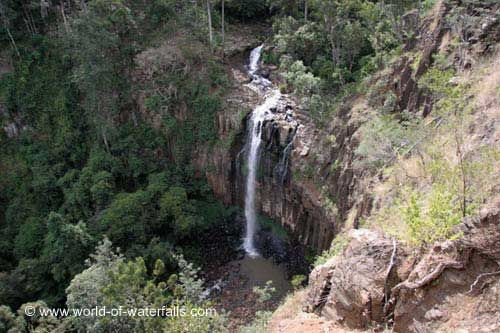 Daggs Falls  near Killarney, Queensland, Australia