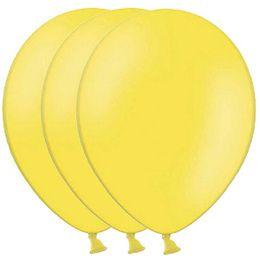 Ballonnen geel 100 stuks -  Ballonnen geel. Een zak met 100 goede kwaliteit ballonnen. Kleur: geel.   www.feestartikelen.nl