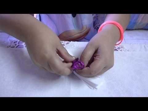 Come fare le Rose con i fazzoletti di carta - Centrotavola fai da te - Video Tutorial - YouTube