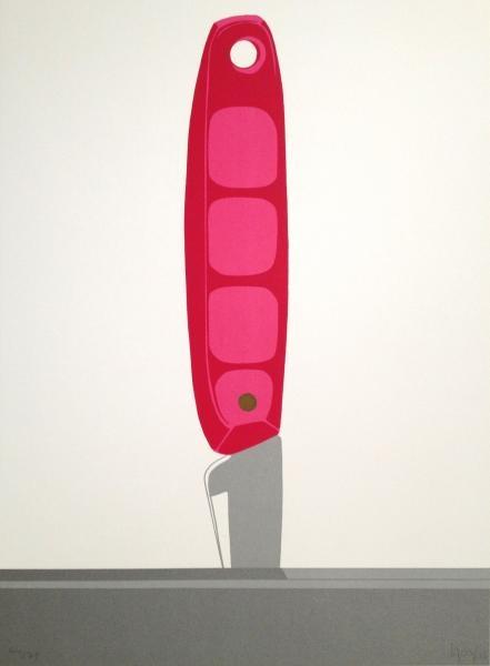 Ana Mercedes Hoyos, Pink Knife