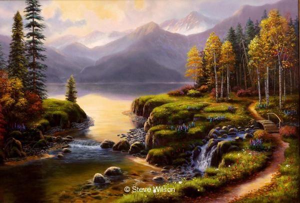 Steve Wilson Original Paintings 1