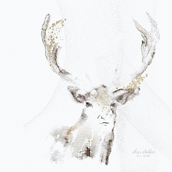 Limited edition, signed and numbered art print by Elise Stalder.