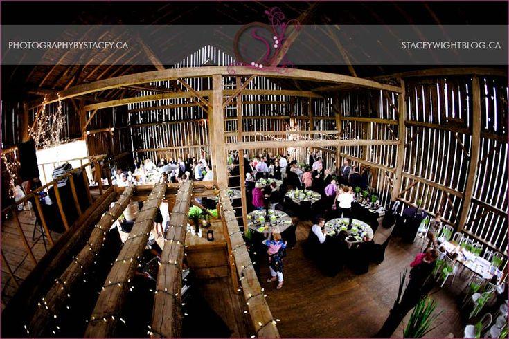 Barn Wedding Reception.