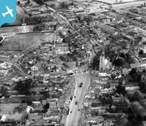 The town centre, Halstead, 1929