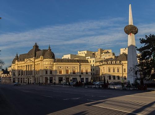 Buildings of Bucharest: Calea Victoriei