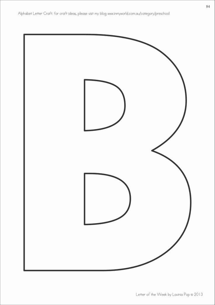 a7ea7c8a2d0db1636e641479934dbc91 Template For Letter Bb on letter b template, letter tt template, letter aa template, letter ss template, letter pp template, block letter i template,