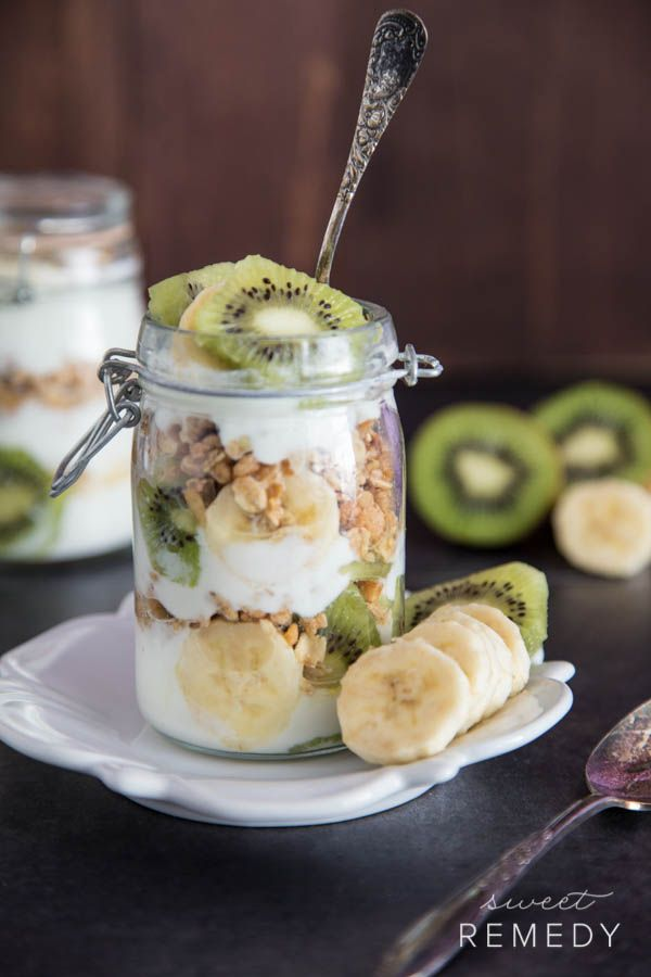 Fruit + Yogurt Granola Parfait