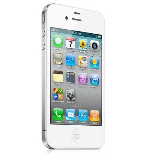 nice Apple iPhone 4 Verizon Cellphone, 16GB, White
