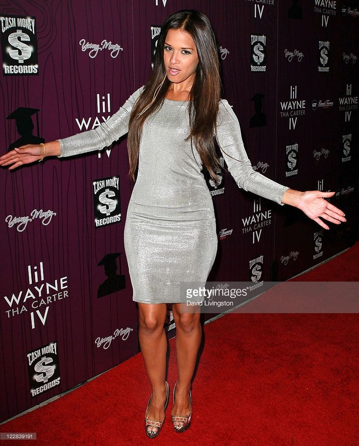 TV personality Rocsi attends Cash Money Records' Lil Wayne album release party for 'Tha Carter IV' at Boulevard3 on August 28, 2011 in Los Angeles, California.