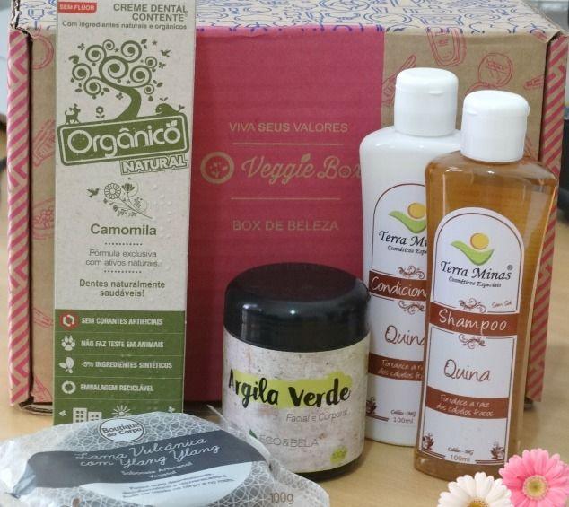 caixinha veggie box beleza março 1