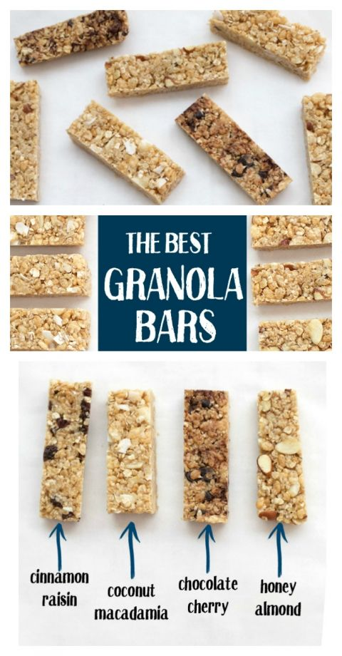 Soft, chewy granola bars loaded with goodies and none of the bad stuff. Gluten free, vegan, and naturally sweetened.