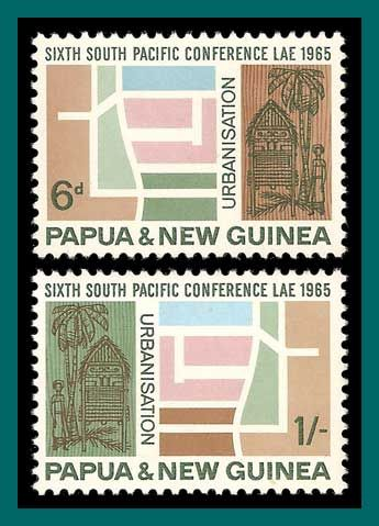 Papua New Guinea Stamps 1965 South Pacific Conference, mint