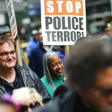 Movies: LAPD union joins NYPD's in calling for Quentin Tarantino boycott