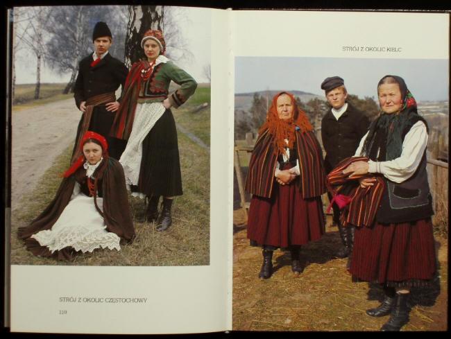 Polish clothing, Częstochowa and Kielce
