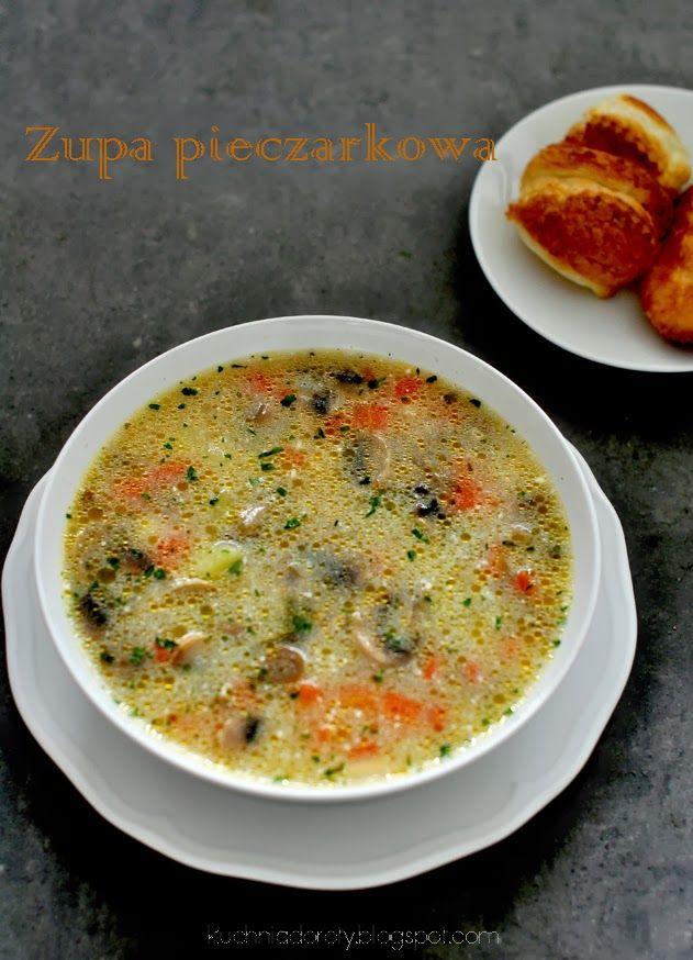 zupa, zupa pieczarkowa, przepis na zupę, zupa pieczarkowa przepis,