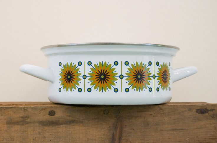 Austria Email Universal Enamel Cookware by ThrowbackArtifacts on Etsy https://www.etsy.com/au/listing/166466609/austria-email-universal-enamel-cookware