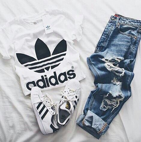 Adidas More Clothing, Shoes & Jewelry: Women: adidas shoes amzn.to/2j5OwIR, A …   – outfits