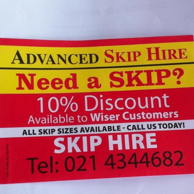 Skip hiring service