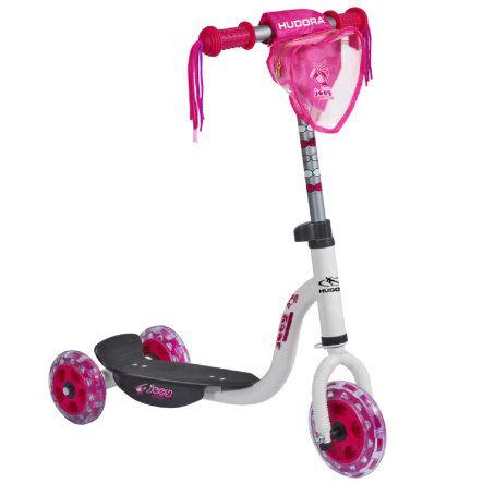HUDORA Kiddyscooter joey Pinky 3.0, weiß/pink 11060 bei baby-markt.ch - Ab 80 CHF versandkostenfrei ✓ Schnelle Lieferung ✓ Jetzt bequem online kaufen!