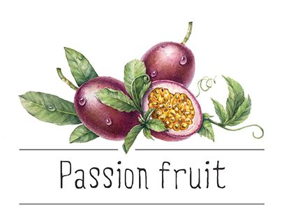 """Check out new work on my @Behance portfolio: """"Passion fruit"""" http://be.net/gallery/40618815/Passion-fruit"""