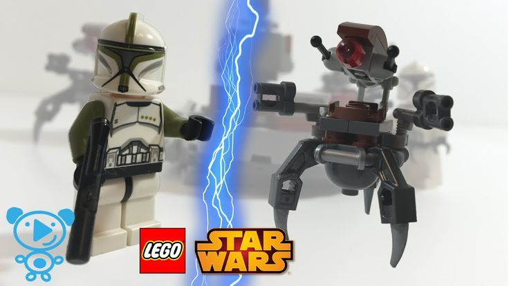 LEGO Star Wars Clone Troopers vs. Droidekas 75000 Spielzeug Review Kinde...