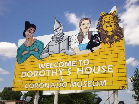 """Liberal, Kansas Dorothy's House and Land of Oz A house turned museum is the real-life """"home"""" of the fictional main character of The Wizard... Visit us on Facebook at:  https://www.facebook.com/KansasCityMissouriLife/"""