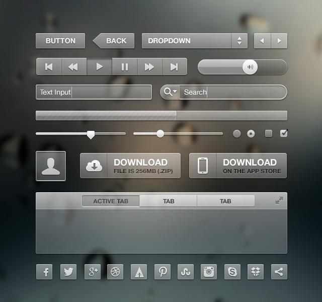 Transparent UI  http://dribbble.com/shots/662512-Transparent-UI-Kit