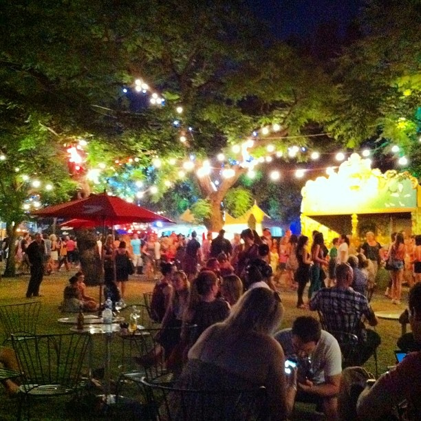 "@foxedglove's photo: ""@thegardenofud in full swing! #adelaide #adlfringe"""